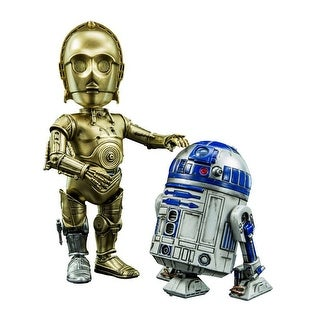 Star Wars R2-D2 & C-3PO Hybrid Metal Collectible Figures