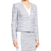 Classiques Entier Womens Tweed One Shoulder Jacket