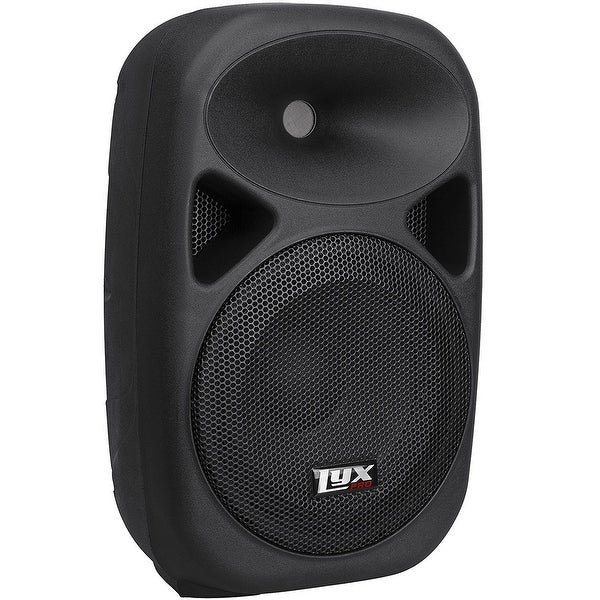 """LyxPro SPA-10 - 10"""" Compact Portable PA System 110-Watt RMS Power Active Speaker"""