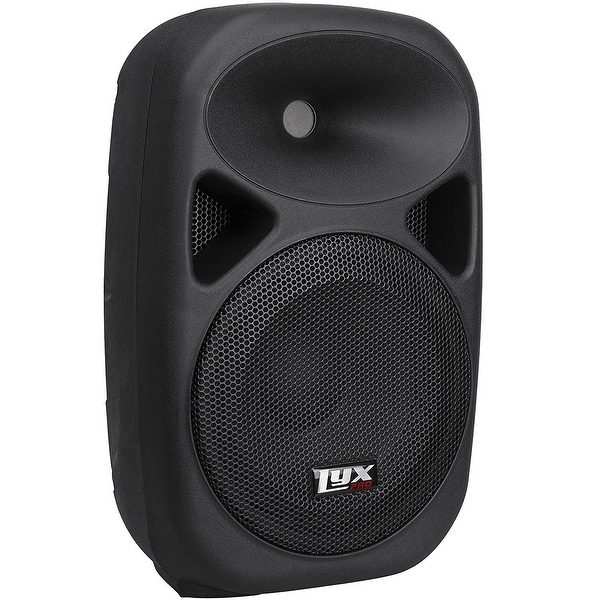 "LyxPro SPA-15 - 15"" Compact Portable PA System 180-Watt RMS Power Active Speaker"