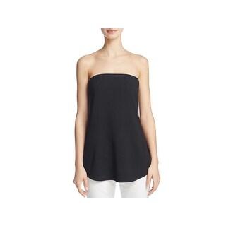 Theory Womens Zalballa Dress Top Crepe Boning