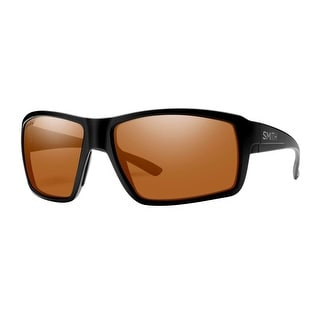 Smith Optics Sunglasses Mens Colson Matte Black Polarized Copper COCP - matte black copper - 60x43x16x120