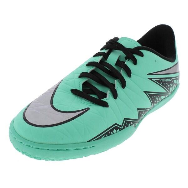 ecdaf8a4c Nike Boys JR Hyper-Venom Phelon II Soccer Shoes Indoor Non-Marking - 6