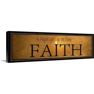 """Faith"" Canvas Wall Art"