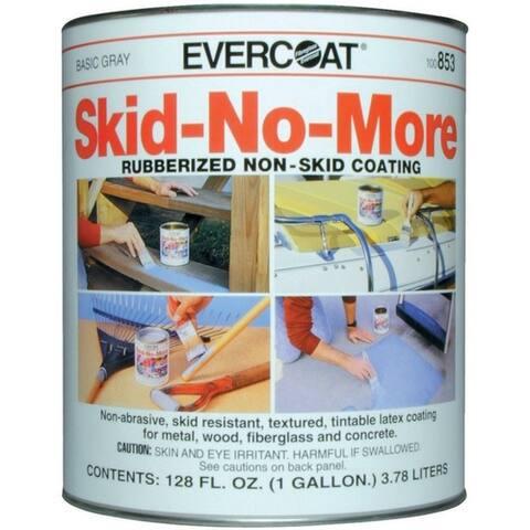 Evercoat 100853 Skid-No-More Rubberized Non-Skid Coating, 1 Gallon, Gray