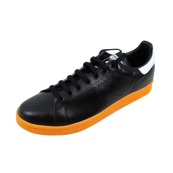meet 6c726 b0a6c Adidas Men  x27 s Raf Simons Stan Smith Black Orange-White BB2647