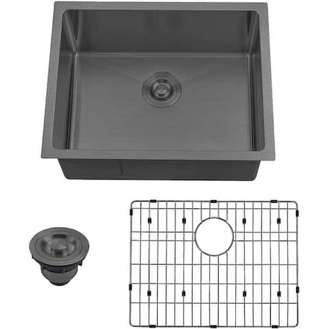 """UM2318 23""""x18"""" Undermount Stainless Steel Kitchen Bar Sink - 23X18"""