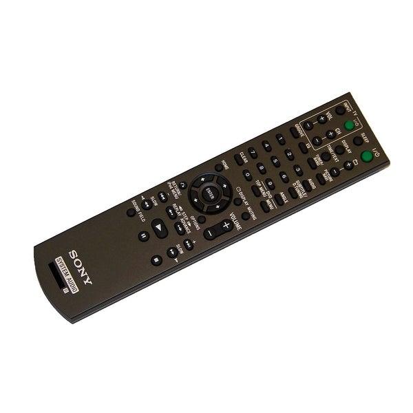 OEM Sony Remote Control Originally Shipped With: HCD-SLK2iV, HCD-SLK1i, HCD-SLK2i, HCDSLK1i, HCDSLK2iV, HCDSLK2i