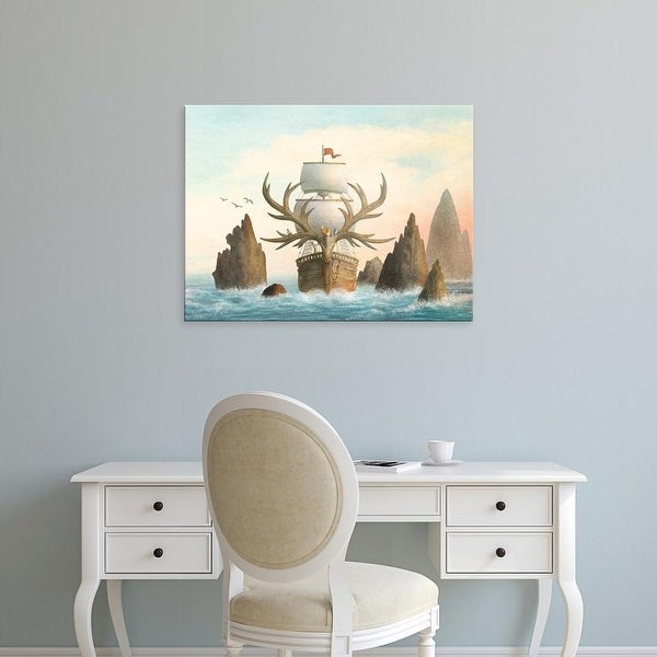 Easy Art Prints Terry Fan's 'The Antlered Ship' Premium Canvas Art