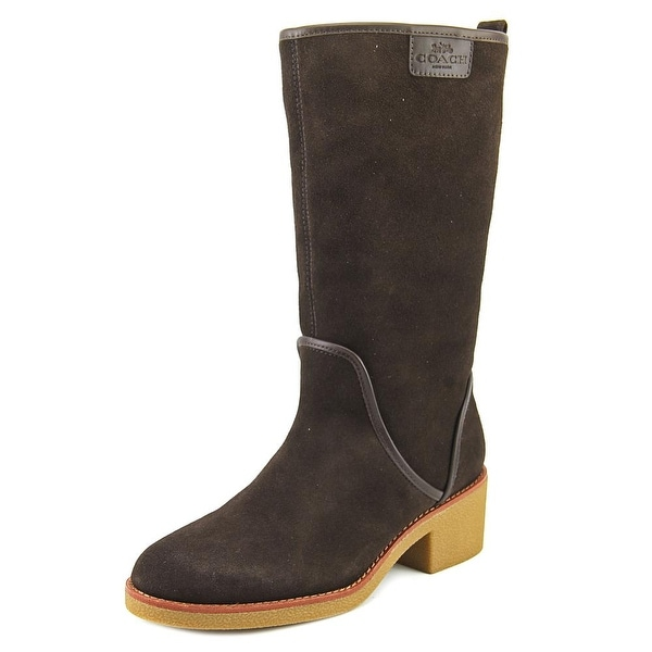 Coach Palmer Women Chestnut Snow Boots
