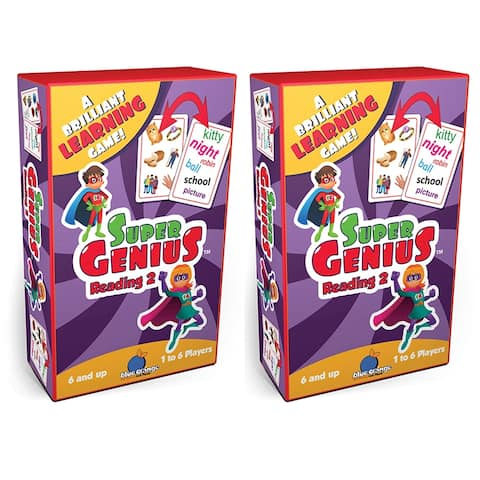 (2 Pk) Super Genius Reading 2