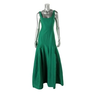Halston Heritage Womens Evening Dress Silk Blend Sleeveless