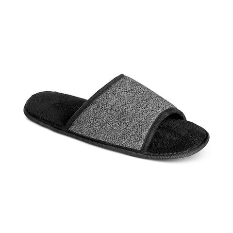 Bar Iii Mens Heathered Slide Slippers