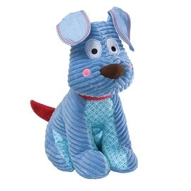 "Gund Happi Baby - Go Happi 15"" Plush Dog, Blue"