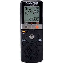 Olympus V404130BU000 Olympus VN-7200 2GB Digital Voice Recorder - 2 GB Flash Memory - Headphone - 1151 HourspeaceRecording Time
