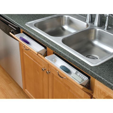 """Rev-A-Shelf 6572-14-52 6572 Series 14"""" Standard and Accessory Trays with 2 Pairs of Hinges"""