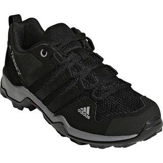 adidas Children's Terrex AX 2.0 R Hiking Shoe Black/Black/Vista Grey