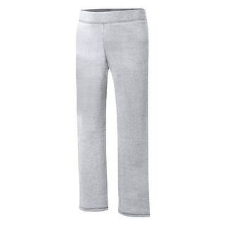 Hanes ComfortSoft EcoSmart® Girls' Open Leg Sweatpants - Size - L - Color - Light Steel