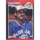 Dave Stieb Toronto Blue Jays 1989 Donruss Autographed Card This item comes with a certificate of a