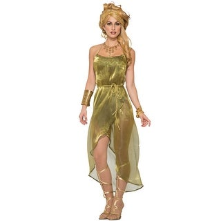 Forum Novelties Gold Toga Dress Adult Costume - Standard