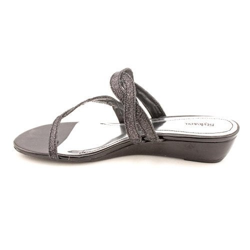 Style & Co. Womens Highline Split Toe Casual Ankle Strap Sandals