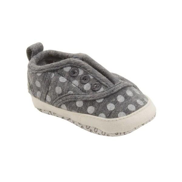 1b8f4ebd Shop Lacoste Baby Rene Crib Sneakers in Dark Blue - Free ...