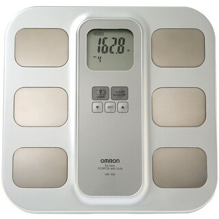 Omron Healthcare Hbf-400 Fat Loss Monitor With Scale, White