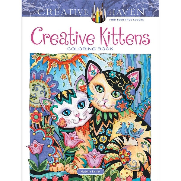- Shop Dover Publications-Creative Kittens Coloring Book - Creative Kittens Coloring  Book - Overstock - 17218645