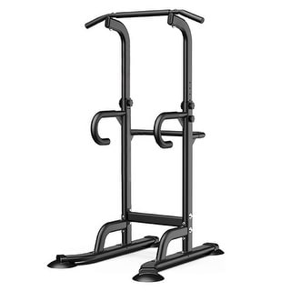 Link to Dip Station Power Tower Pull Up Bar Strength Training Equipment - 54x41x11 inch Similar Items in Fitness & Exercise Equipment