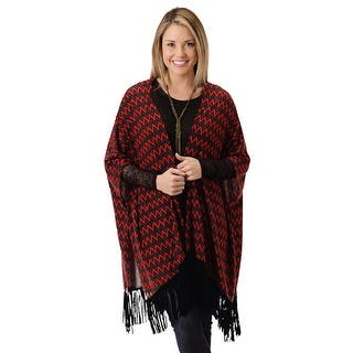 Roper Western Shirt Women L/S Fringe Poncho Red 03-058-0514-7015 RE|https://ak1.ostkcdn.com/images/products/is/images/direct/6d5764cb2a10d7399b216f17243391fe263de902/Roper-Western-Shirt-Women-L-S-Fringe-Poncho-Red-03-058-0514-7015-RE.jpg?impolicy=medium