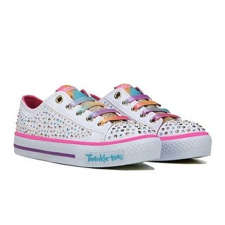Skechers Girl's TWINKLE TOES TWIRLY TOES Sneaker
