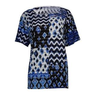 Alfred Dunner Women's Square Neck Tiered Knit Top - Multi|https://ak1.ostkcdn.com/images/products/is/images/direct/6d5954d697af9da0928dd10b4164cfae0c8ef1c5/Alfred-Dunner-Women%27s-Square-Neck-Tiered-Knit-Top.jpg?impolicy=medium