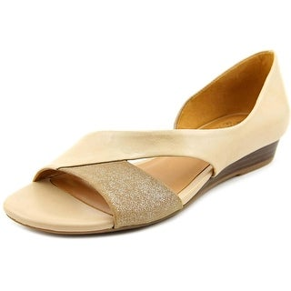 Naturalizer Jazzy W Open Toe Leather Wedge Sandal