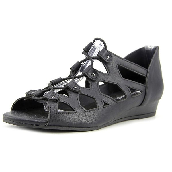 Easy Street Savvy Women Black Sandals