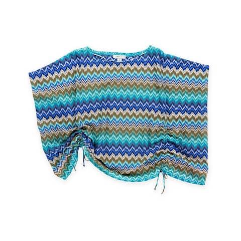 Style&Co. Womens Zigzag Sweatshirt - P