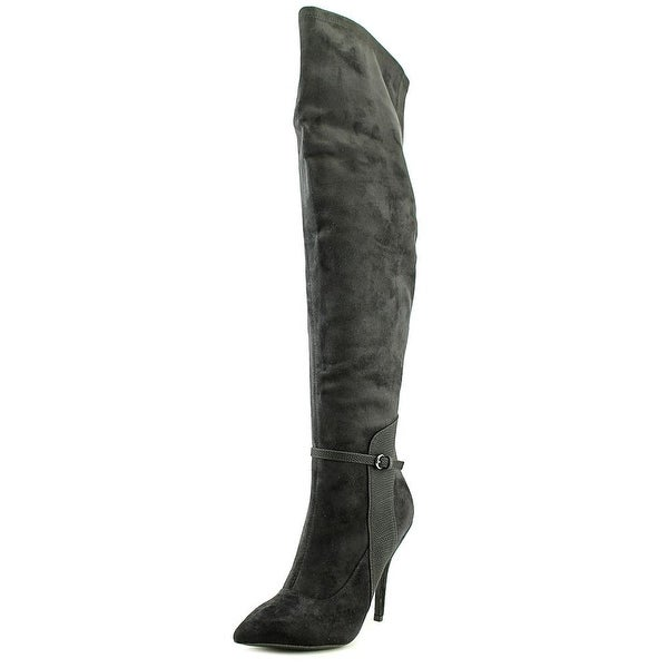 Mojo Moxy Contessa Pointed Toe Suede Knee High Boot