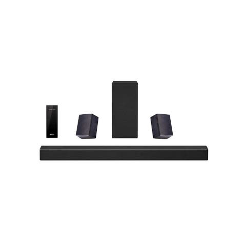 LG SN7R 5.1.2 Channel Home Theater Sound System w/ Dolby Atmos (Certified Refurbished) - Black