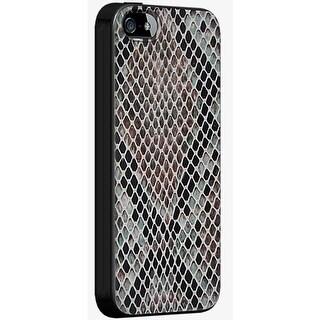Milk & Honey Snake Skin Case for Apple iPhone 5/5S/SE (Black/Snake Skin)