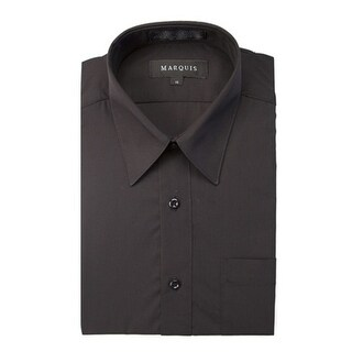 Marquis Boy's Long Sleeve Regular Fit Dress Shirt
