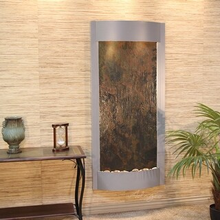Pacifica Waters Fountain - Silver Metallic - Choose Options