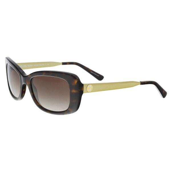 Michael Kors MK2061 329313 Dark Tortoise Rectangle Sunglasses - 51-18-140