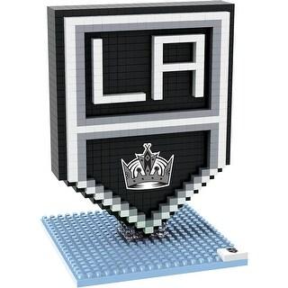 Los Angeles Kings 3D NHL BRXLZ Bricks Puzzle Team Logo