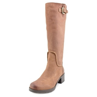 Rockport Rola Tall Boot Women W Round Toe Leather  Knee High Boot
