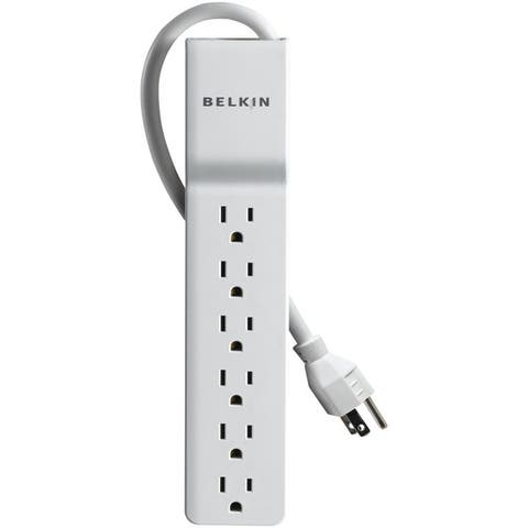 Belkin Be106000-04 6-Outlet Home/Office Surge Protector (4Ft Cord)