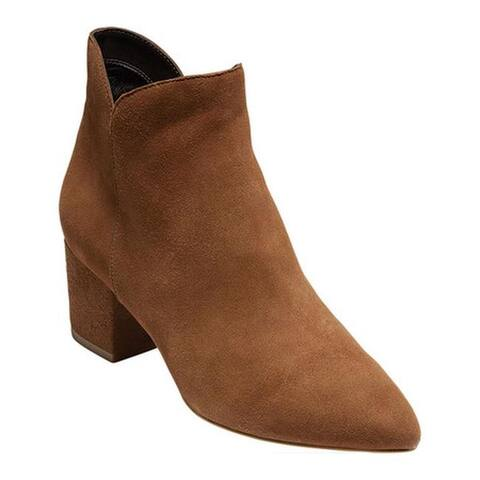 Cole Haan Women's Elyse Ankle Bootie Bison Suede