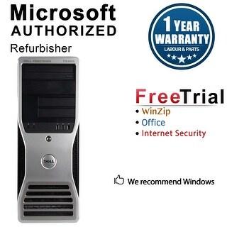 Dell Precision T3400 Workstation Tower Intel Core 2 Duo E7600 3.0G 4GB DDR2 1TB Windows 10 Pro 1 Year Warranty (Refurbished)