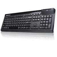 IOGear GKBSR201TAAB Keyboard w/ Integrated Smart Card Reader