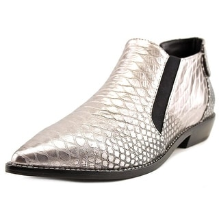 L.A.M.B. Memento Women Pointed Toe Leather Ankle Boot