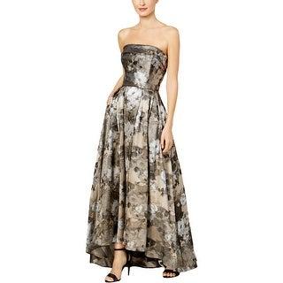 Xscape Womens Evening Dress Brocade Special Occasion
