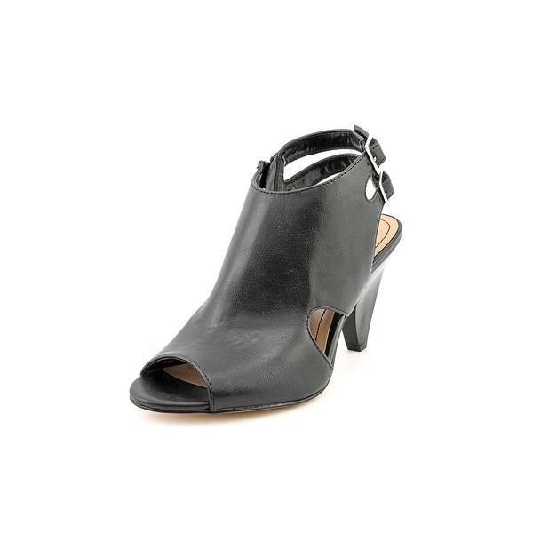 Style & Co Celiaa Women Open Toe Synthetic Black Sandals